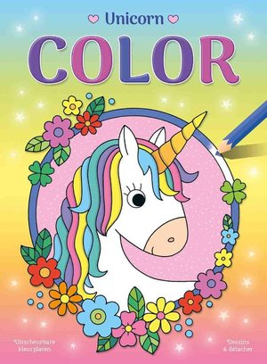 Unicorns Color kleurblok