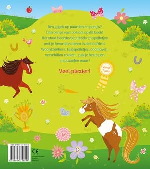 Mijn leukste Paarden en Pony's spelletjesboek