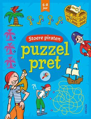 Puzzelpret - Stoere piraten (6-8 j.)
