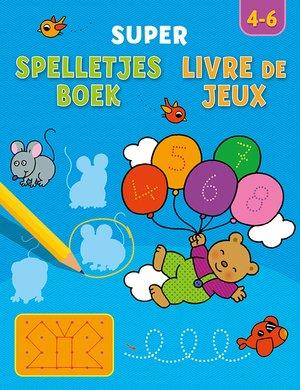 Super spelletjesboek, Livre de Jeux 4-6