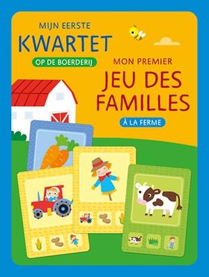 Mijn eerste kwartet - Op de boerderij / Mon premier jeu des familles - A la ferme