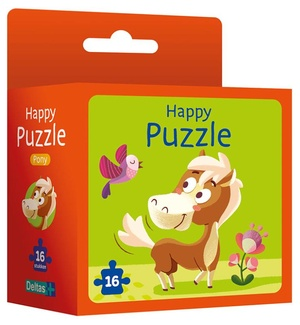 Happy puzzle - pony