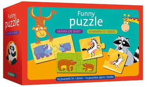 Funny puzzle - mama en baby / Funny puzzle - mamans et bébés