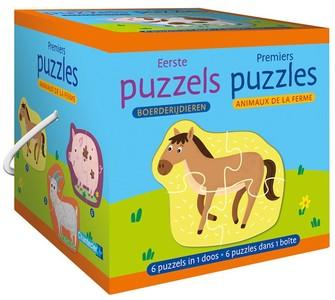 Eerste puzzels - boerderijdieren / Premiers puzzles - animaux de la ferme