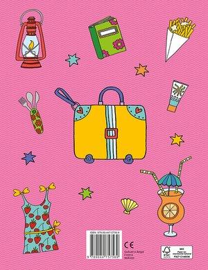 Het reuzeleuke meisjeskleurboek voor onderweg