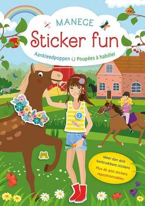 Manege Sticker Fun - Aankleedpoppen / Manege Sticker Fun - Poupées à habiller