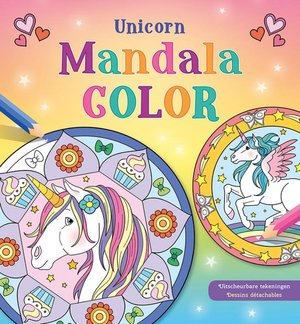 Unicorn Mandala Color