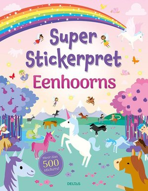 Super Stickerpret-Eenhoorns
