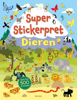 Super Stickerpret - Dieren