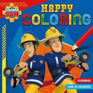 Brandweerman Sam Happy Coloring