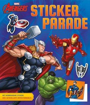 Avengers Sticker Parade