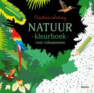 Natuur kleurboek voor volwassenen
