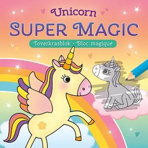 Unicorn Super Magic Toverkrasblok / Unicorn Super Magic Bloc Magique