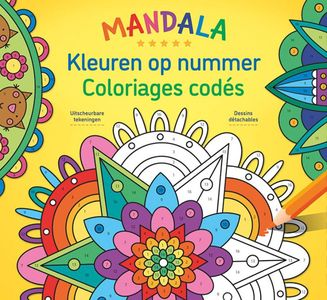 Mandala Magic - Kleuren op nummer / Mandala Magic - Coloriages codés