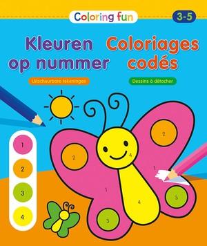 Kleuren op nummer (3-5 j.) / Coloriages codés (3-5 a.)