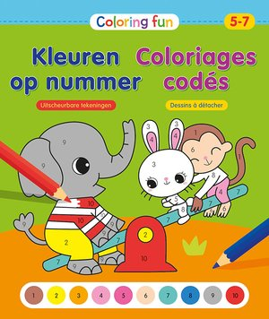 Coloring Fun Kleuren op nummer (5-7 j.) / Coloriages codés (5-7 a.)