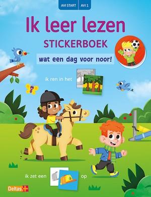 Ik leer lezen Stickerboek - Wat een dag voor Noor! (AVI START / AVI 1)