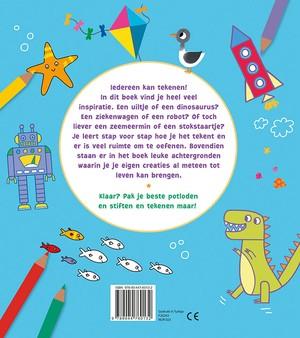 Het leukste kleur- en tekenboek 5-8 j.