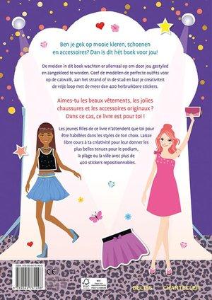 Fashion Studio Sticker Fun – Aankleedpoppen / Fashion Studio Sticker Fun – Poupées à habiller