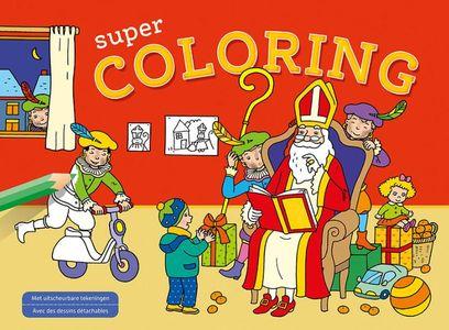 Sinterklaas Super Coloring / Saint-Nicolas Super Coloring
