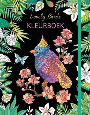 Lovely Birds kleurboek