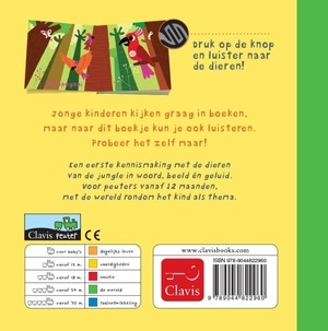 De jungle (geluidenboekje)