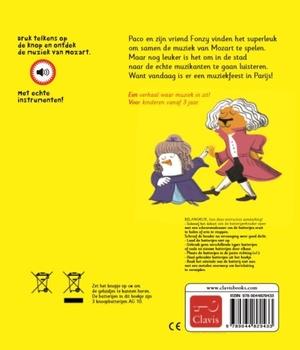 Paco en Mozart (geluidenboek)