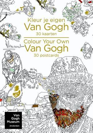 Kleur je eigen Van Gogh - Colour your own Van Gogh