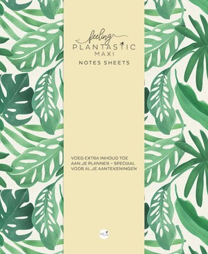 Feeling Plantastic maxi Notes Sheets