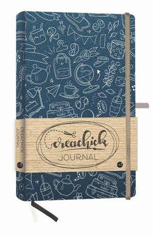 Creachick Journal - Petrolblauw