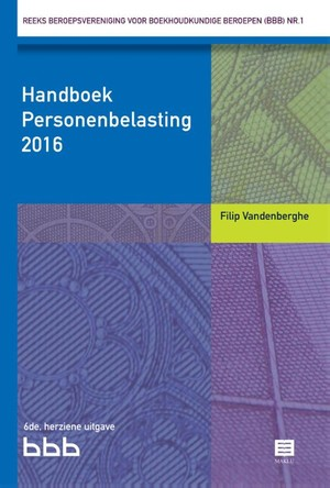 Handboek Personenbelasting 2016