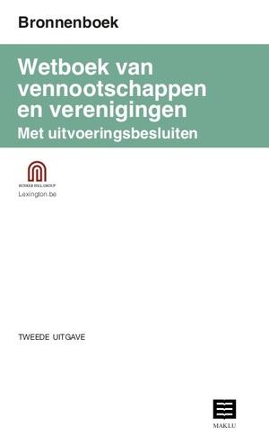 Bronnenboek Wetboek vennootschappen en verenigingen met uitvoeringsbesluiten