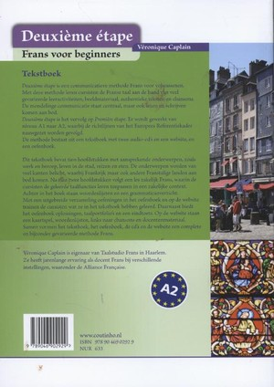 Deuxieme etape Tekstboek