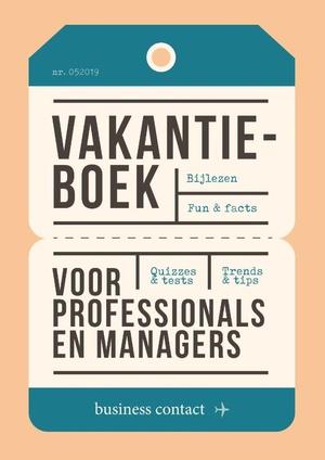 Vakantieboek voor professionals en managers 2019