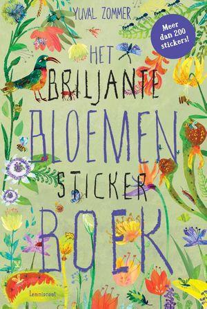 Het Briljante Bloemen Boek Stickerboek