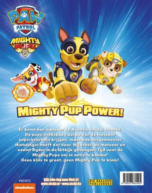Mighty pup power!
