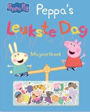 Peppa Pig - Leukste dag magneetboek