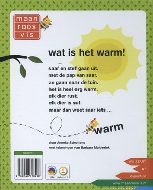 Wat is het warm!