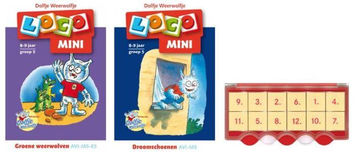 Loco Mini Dolfje Weerwolfje (doos + 2 boekjes)