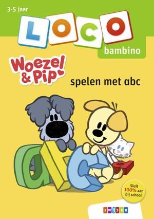 Loco bambino Woezel & Pip spelen met abc