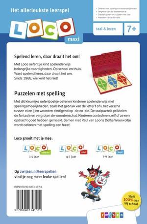 Loco maxi Dolfje Weerwolfje puzzelen met spelling