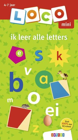 Ik leer alle letters