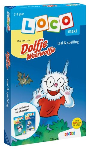 Loco maxi Dolfje Weerwolfje pakket taal & spelling