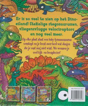 Zoek de dinosaurus op het eiland
