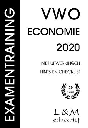 Examentraining Vwo Economie 2020