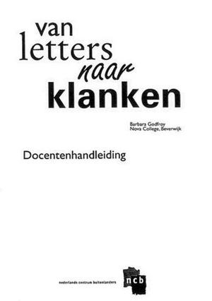 Van letters naar klanken