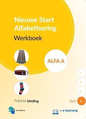 Nieuwe Start Alfabetisering Werkboek Alfa A Deel 4 + e-learning