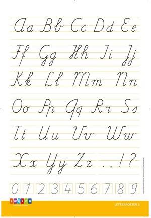 Ik Pen! Nieuw - Letterposter 3