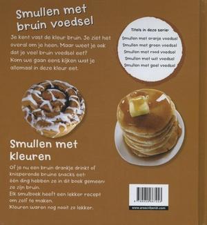 Smullen met bruin voedsel
