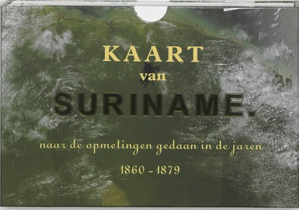 Kaart van Suriname Facsimile editie